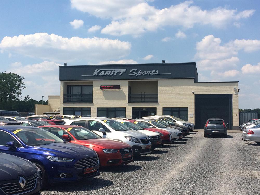 Tweedehands Auto Garage : Karitt sports aankoop en verkoop van jonge tweedehandswagens te